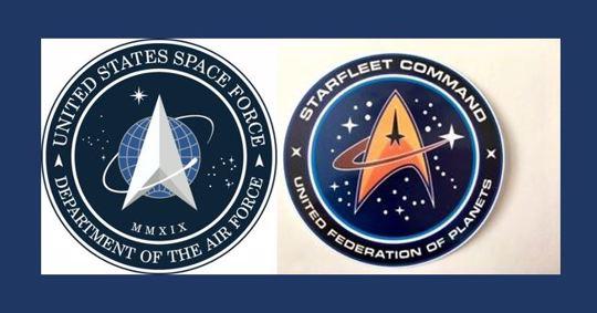 U.S. Space Force/Star Fleet Command logos