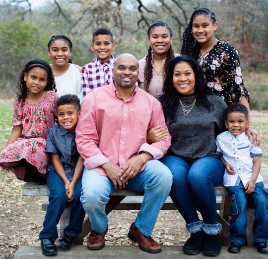 Daryl Jones and family