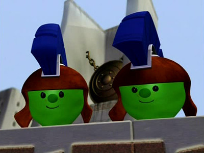 French Peas from VeggieTales 1997