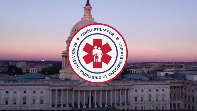 Rapid Consortium logo & US Capitol