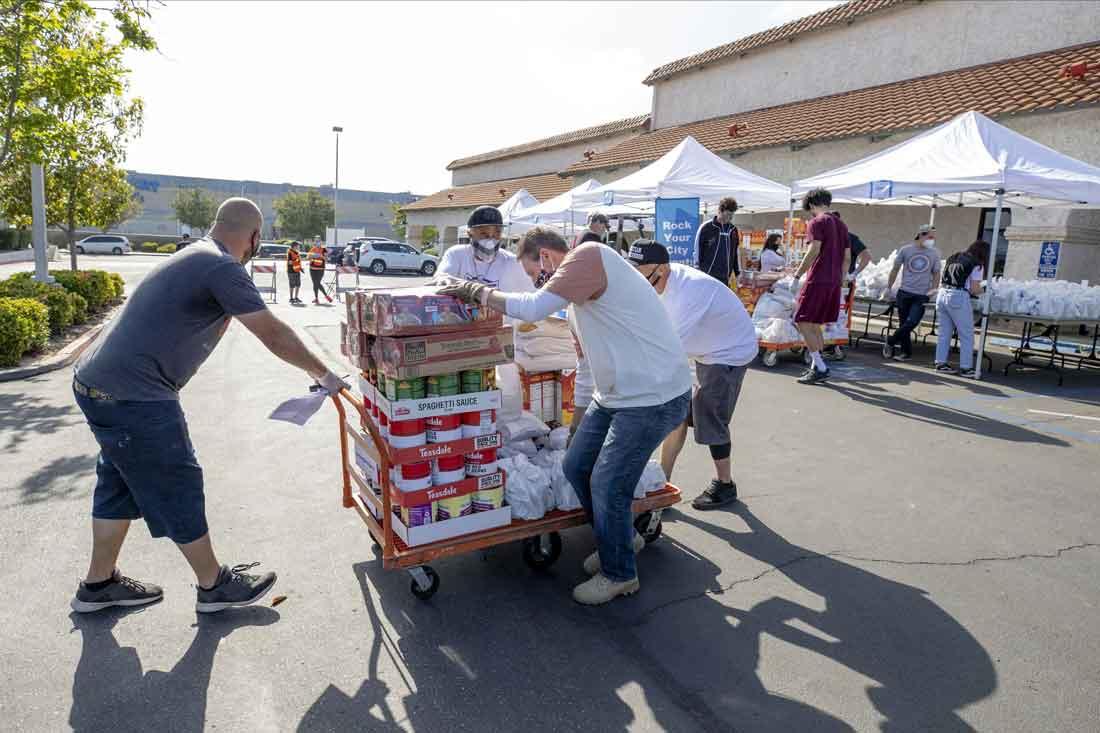 Food distribution prep