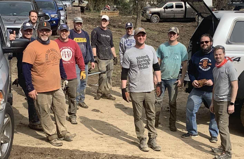 Masters of Disaster volunteers
