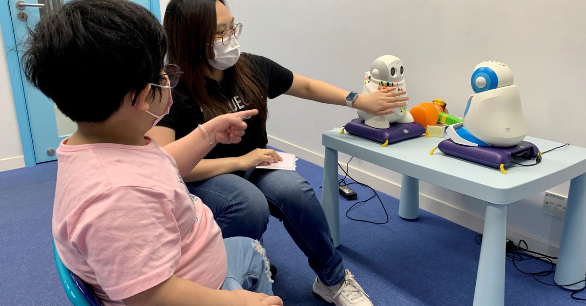 Robots Help Children Who Are Autistic Boost Social Skills