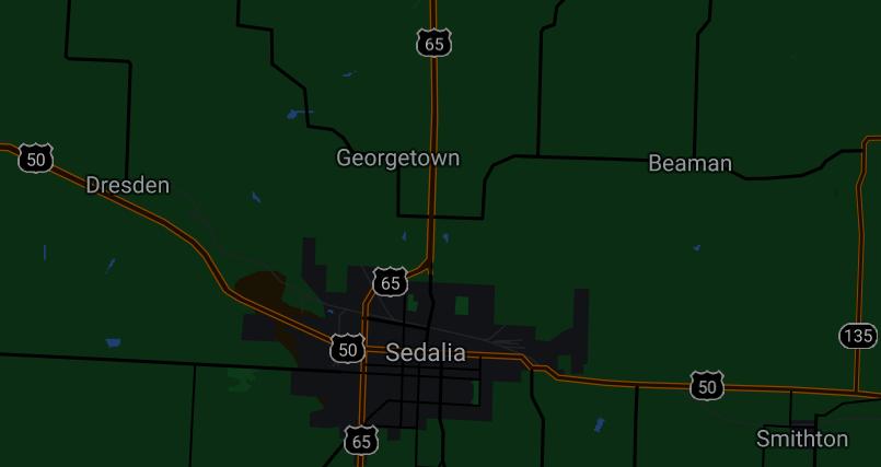 Sedalia & Georgetown, Missouri