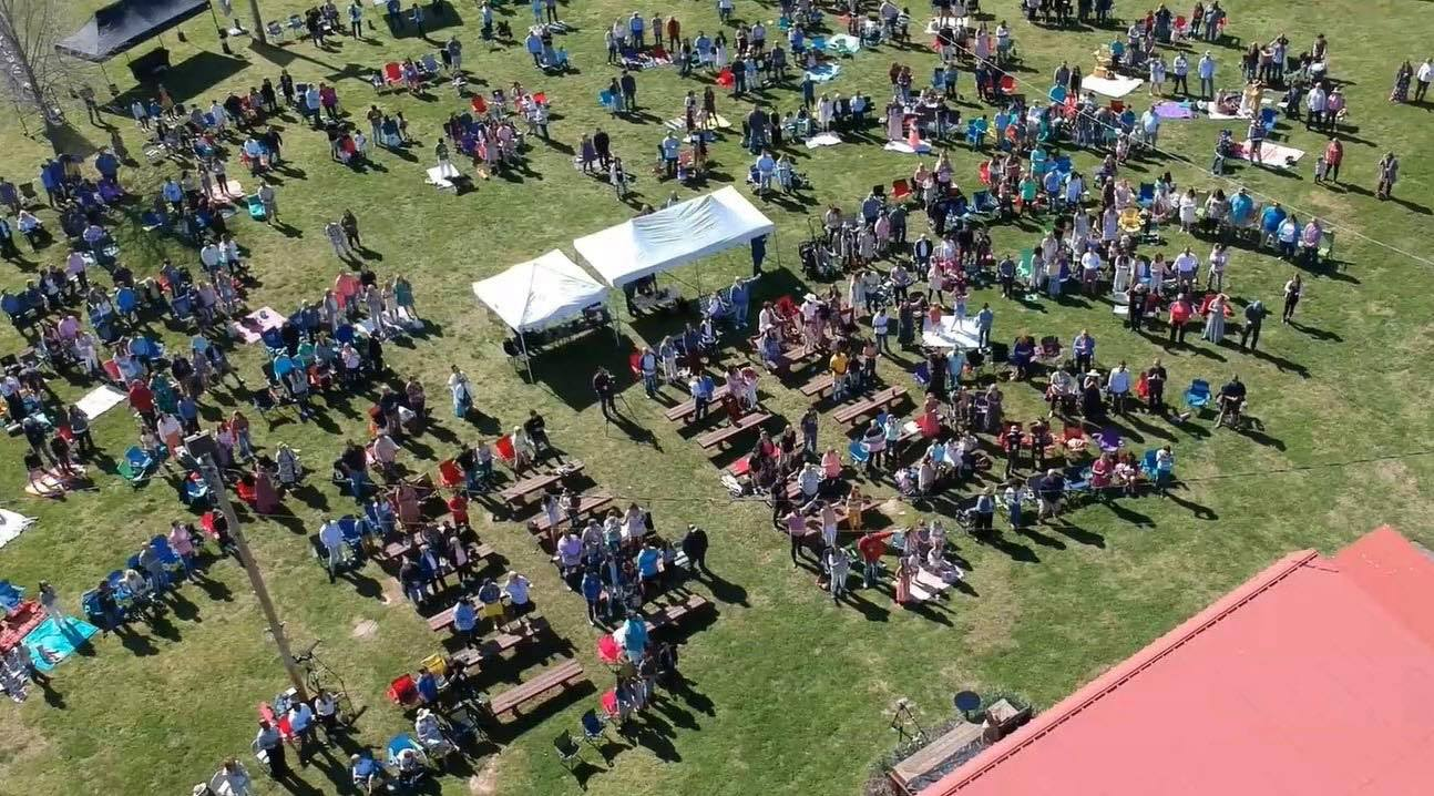 New Tribe Church outdoor worship