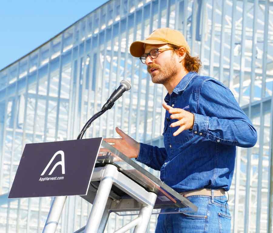 AppHarvest CEO Jonathan Webb