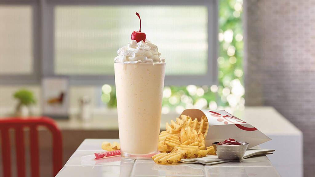 Chick-fil-A's Peach Milkshake