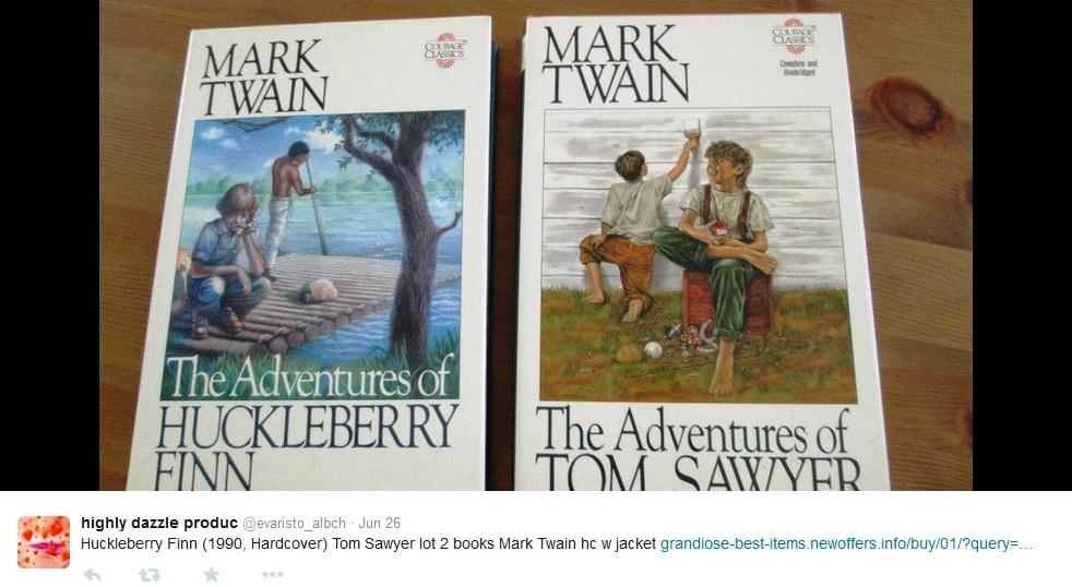 books by Mark Twain