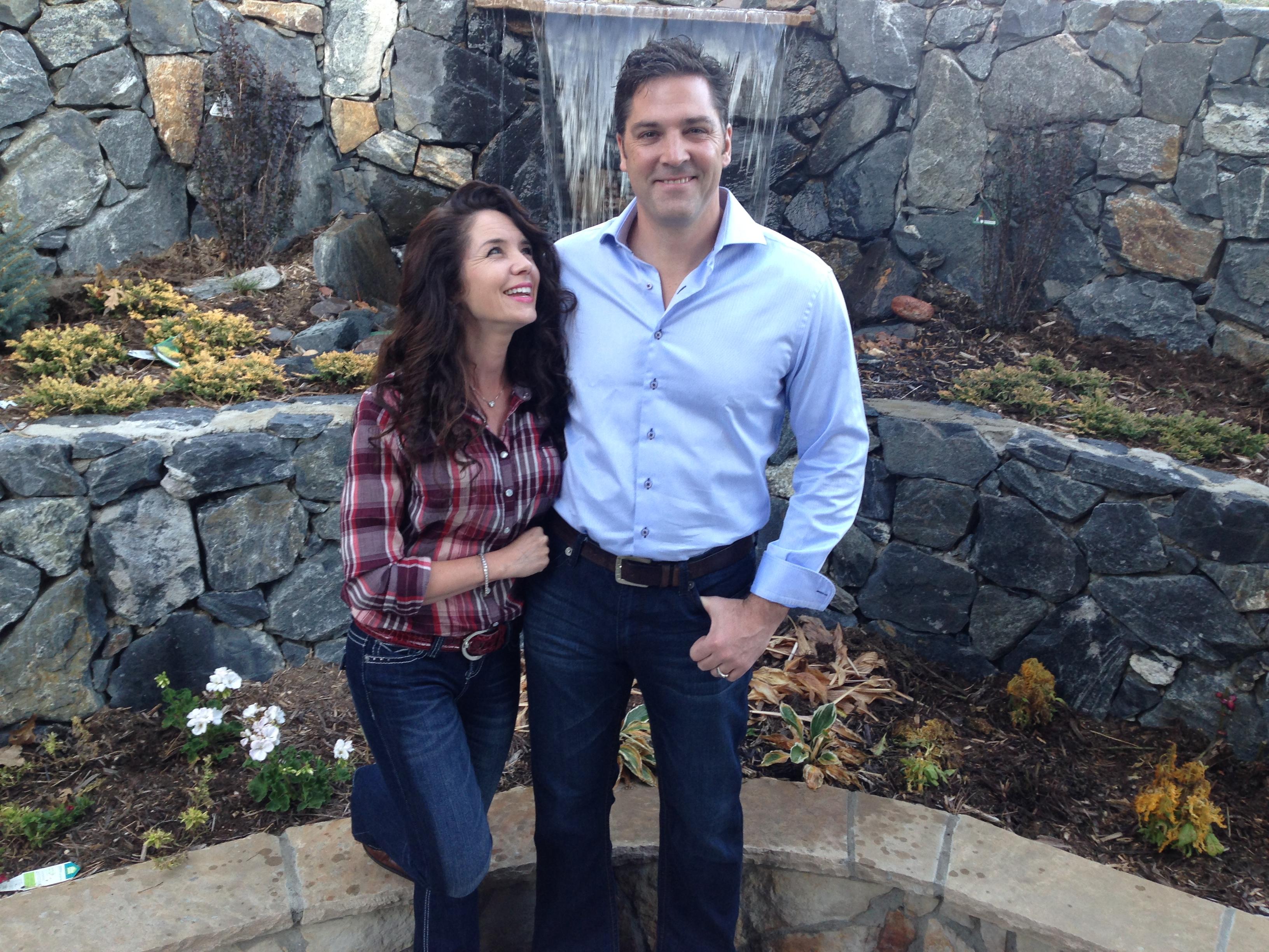 Ken Harrison with wife, Elliette