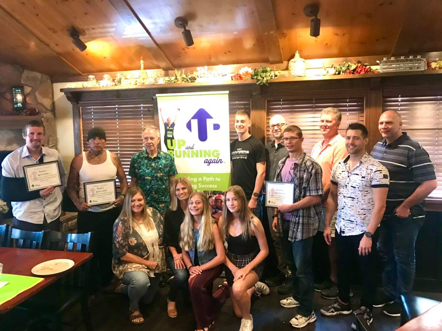 Congratulations to all of the Sioux Falls runners who completed the Up And Running Again training program and Half Marathon. This is a collaborative group through 605 Running Company, UGM & Glory House