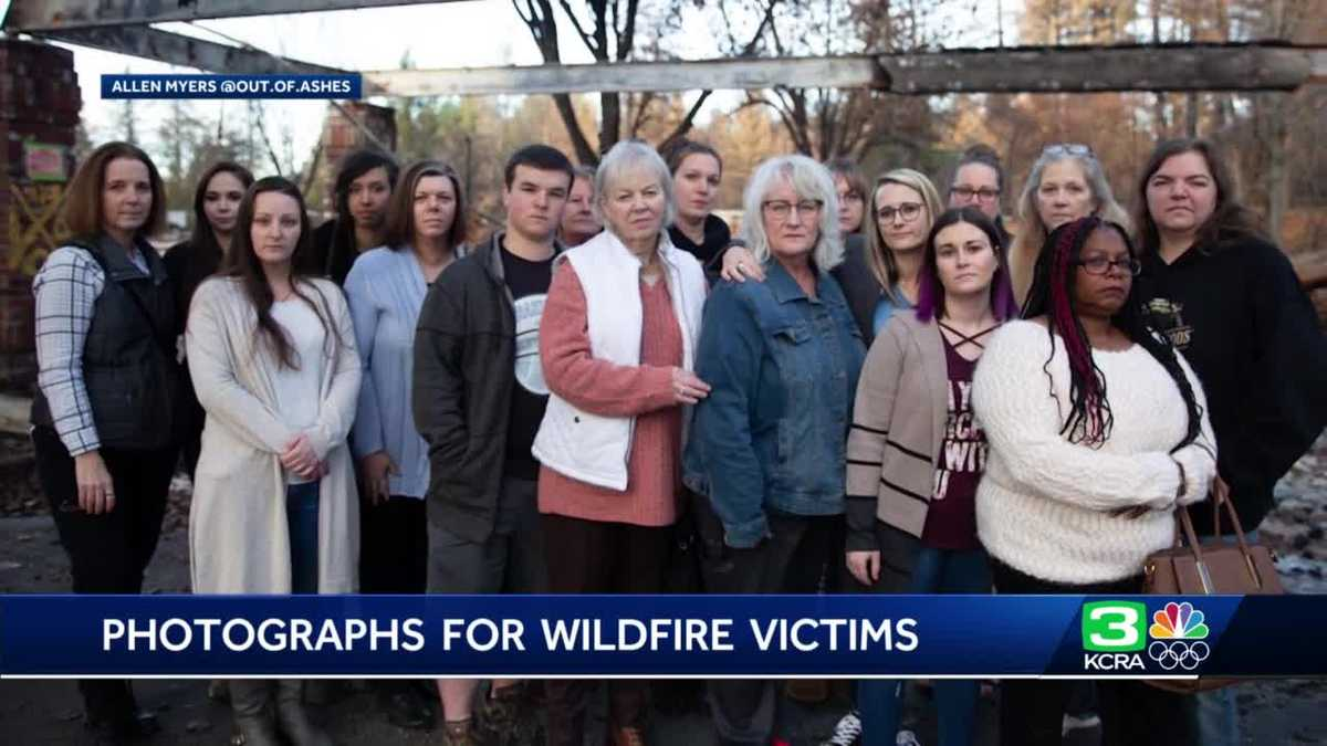 People Lost Homes In Wildfires