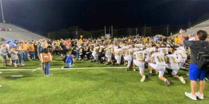 prayer after game
