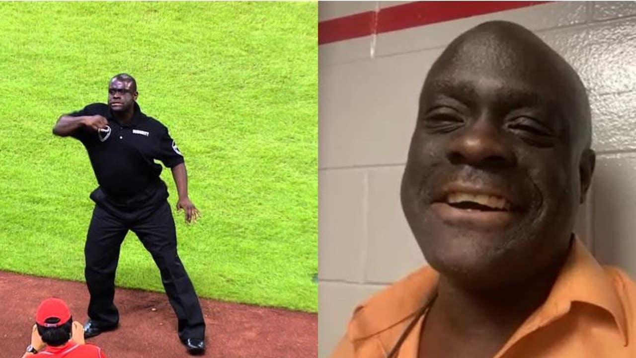 Dancing Security Guard Willis Harris