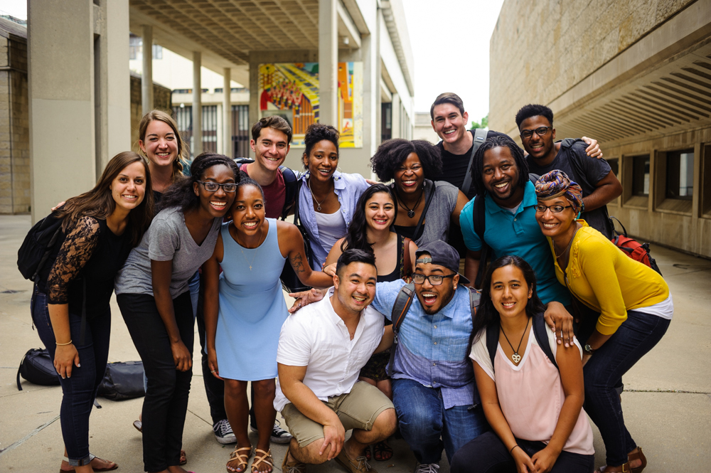 InterVarsity students group picture